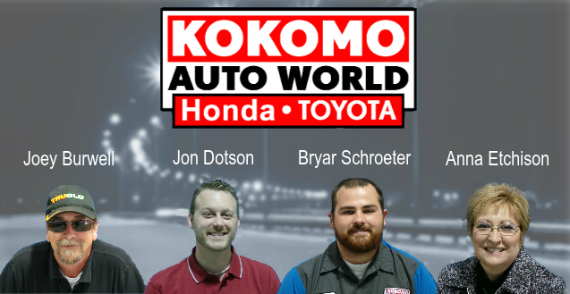 Kokomo Auto World Winners