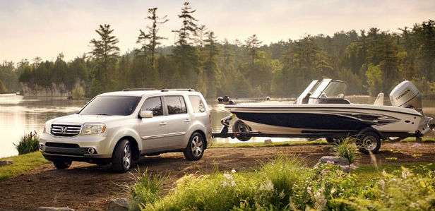 how much can the 2015 honda pilot tow