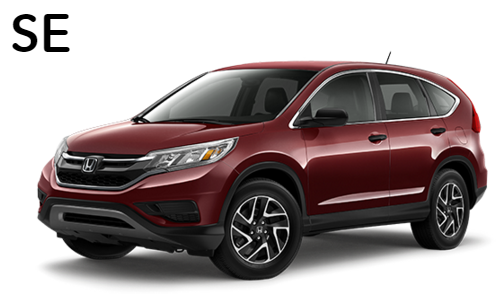 2016 honda cr v lx vs se vs ex