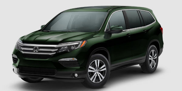 2017 Honda Pilot Trim Levels and Color Options