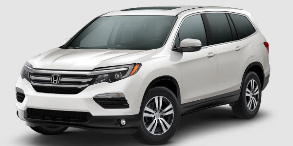 2017 Honda Pilot in White Diamond
