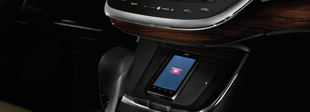 take advantage of qi wireless charging in new toyota vehicles. Black Bedroom Furniture Sets. Home Design Ideas