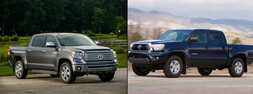 find out how the toyota tundra and toyota tacoma are different. Black Bedroom Furniture Sets. Home Design Ideas