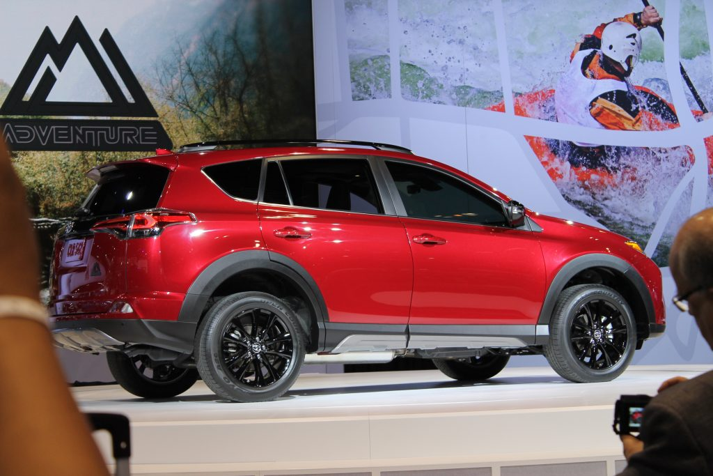 2018 toyota rav4 adventure at the chicago auto show. Black Bedroom Furniture Sets. Home Design Ideas