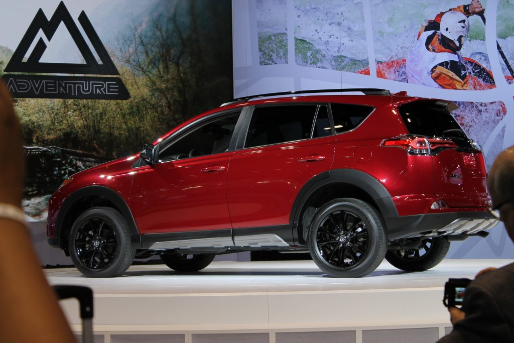 2018 Toyota Rav4 Adventure At The Chicago Auto Show