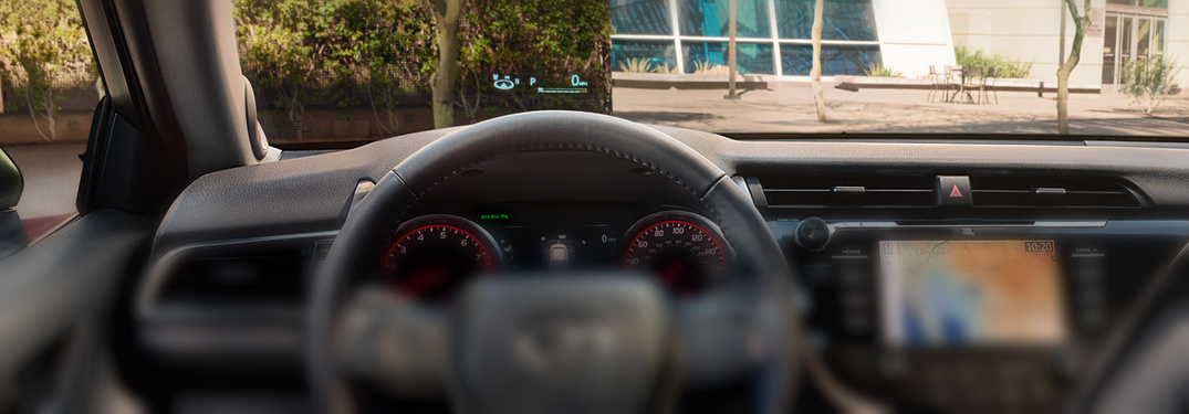 How to Use the Toyota Head-Up Display