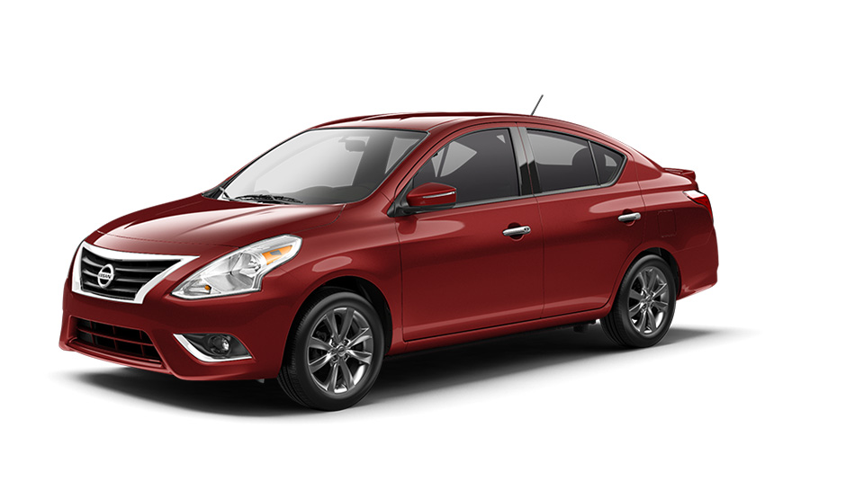 2016 Nissan Versa Sedan Color Options on log cabin fire