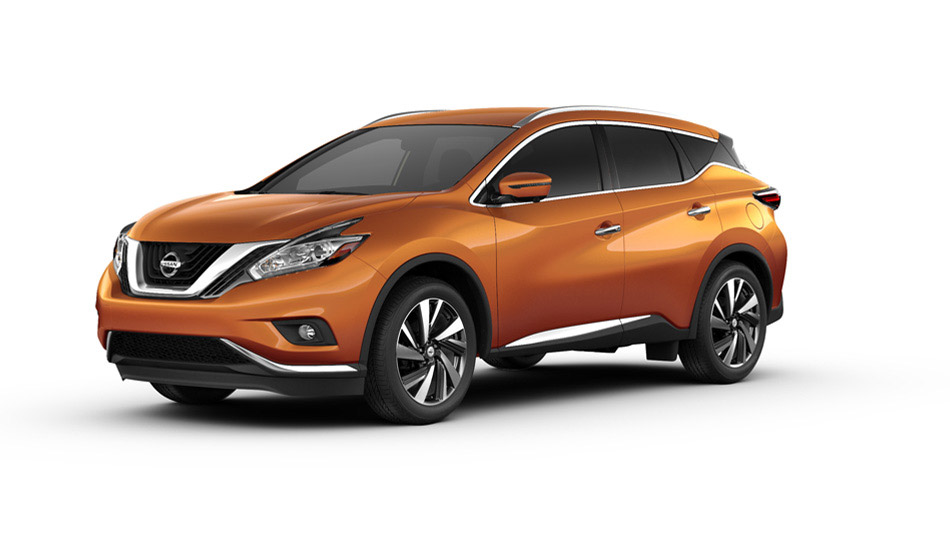 2016 Nissan Murano Color Options
