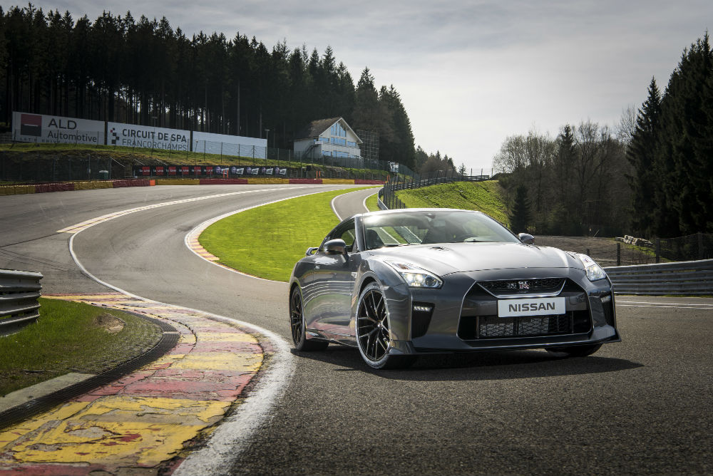 177f93b1ef19f4 New Nissan GT-R offers more than 500 horsepower