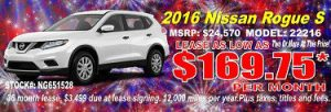 Dayton, OH Nissan Rogue lease specials