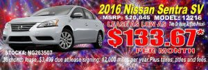Dayton Oh Nissan lease specials
