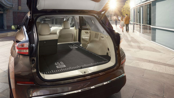 2017 Nissan Murano Passenger and Cargo Space