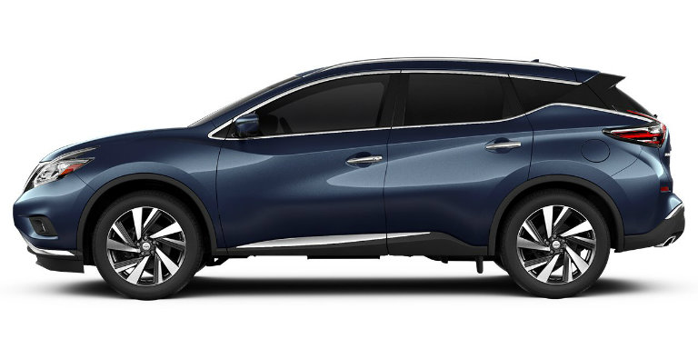 2017 Nissan Murano exterior color options