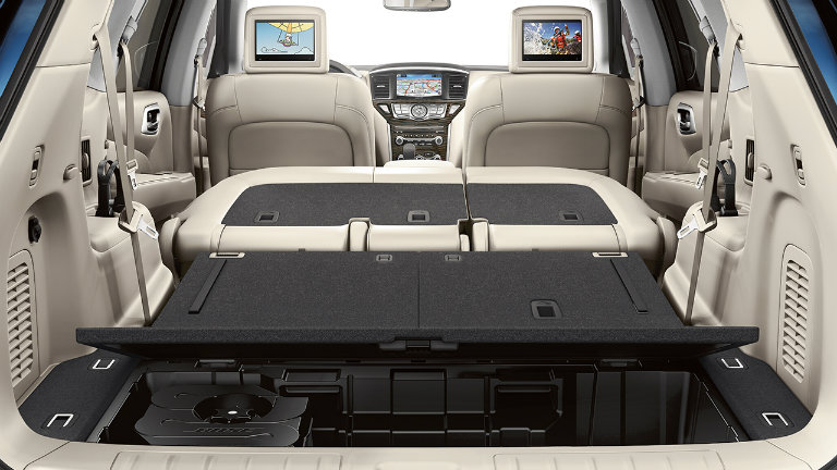 2017 Nissan Pathfinder Comfort And Convenience Features