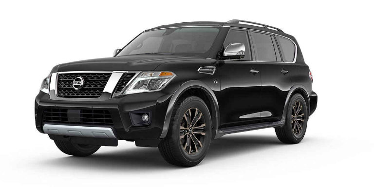 What Are The 2017 Nissan Armada S Color Options