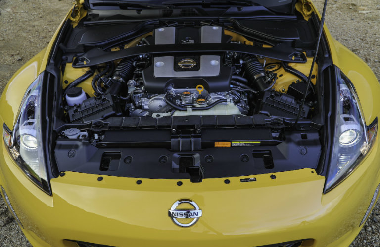 2018 Nissan 370Z Heritage Edition engine options