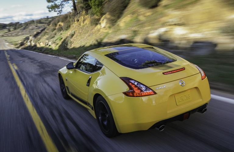 2018 Nissan 370Z Heritage Edition exterior styling