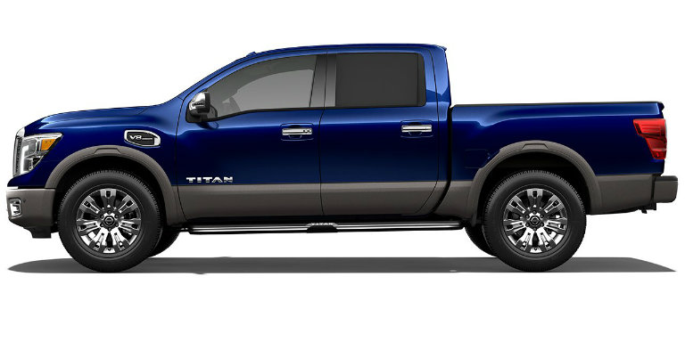 2017 Nissan Titan Color Options