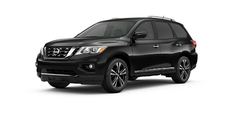 2017 Nissan Pathfinder Color Options