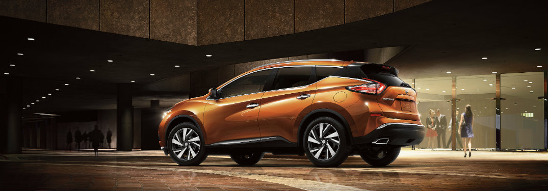 2017 nissan murano passenger and cargo space. Black Bedroom Furniture Sets. Home Design Ideas