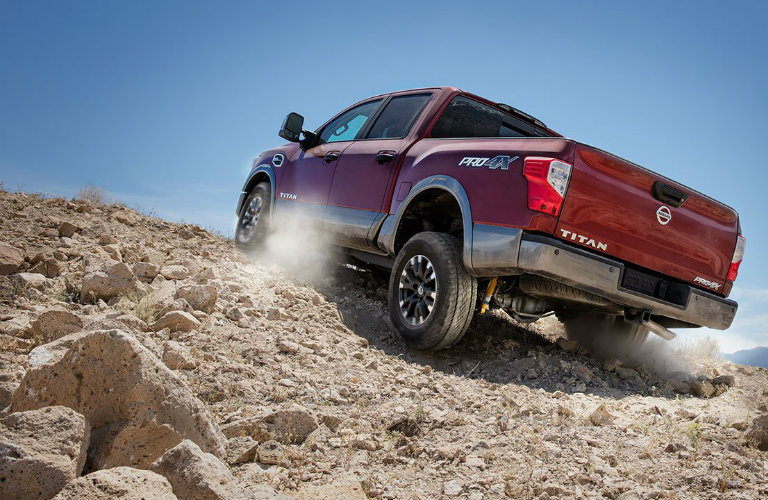 how off road capable is the 2017 nissan titan. Black Bedroom Furniture Sets. Home Design Ideas
