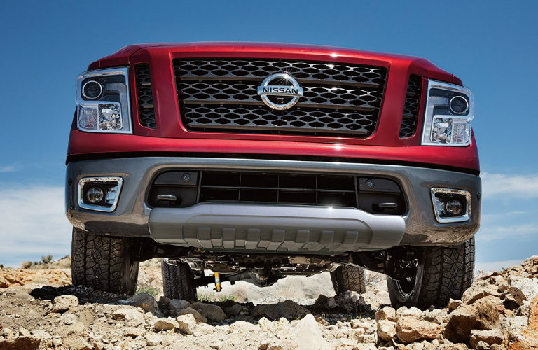 How off-road capable is the 2017 Nissan Titan?