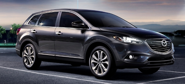 2013 mazda cx 9 gives you an suv with third row seating. Black Bedroom Furniture Sets. Home Design Ideas