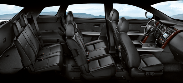 Toyota Highlander Cargo Space >> 2014 Mazda CX-9 challenges the 2014 Toyota Highlander