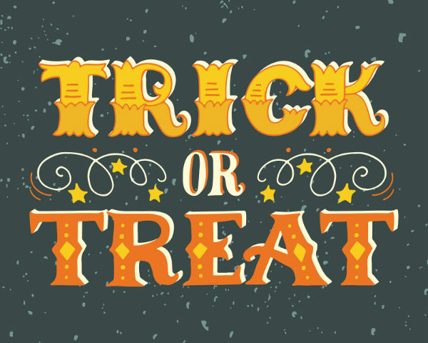 Trick or treat times around Dayton OH and Miami Valley