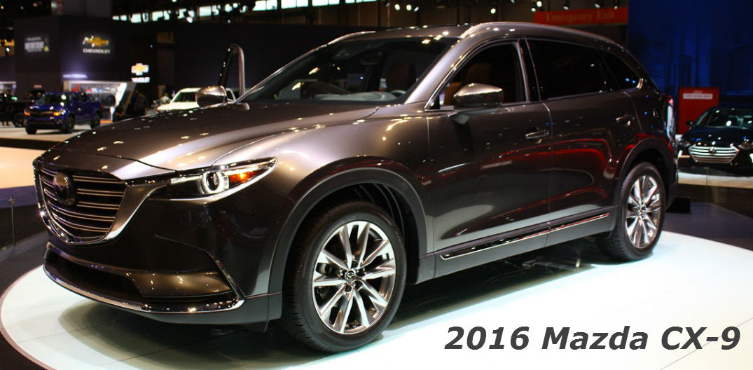 2016 mazda cx 9 signature trim level features. Black Bedroom Furniture Sets. Home Design Ideas