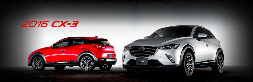 2016 Mazda CX-3 Technology Features