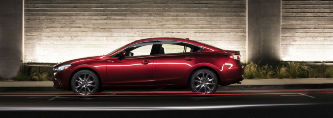 Features and options list of 2017 Mazda6 enhances drivers experience behind the wheel