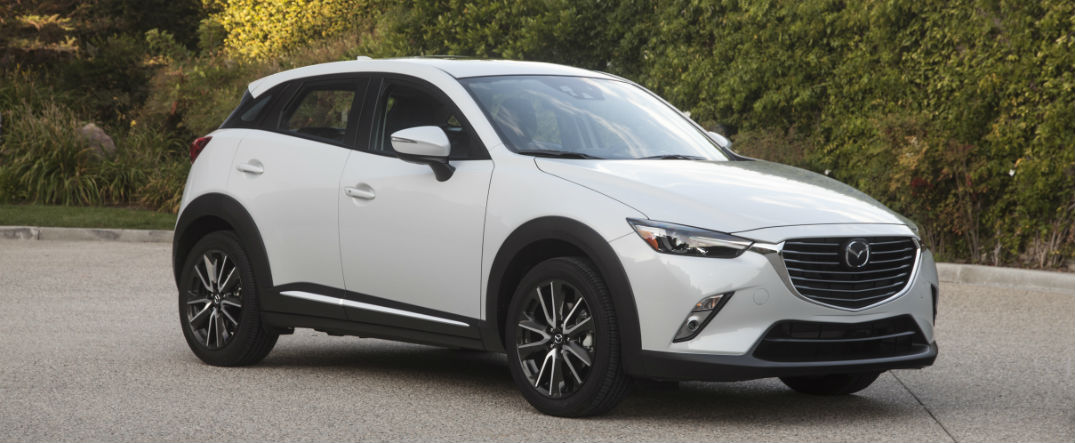 2017 Mazda CX-3 features and options list
