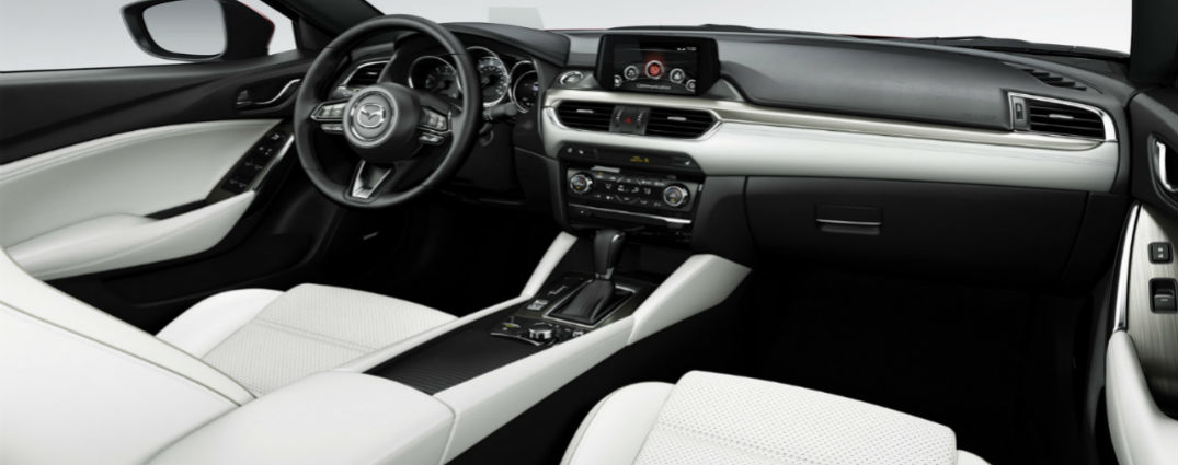 Luxurious comfort features adorn interior of new 2017 Mazda6