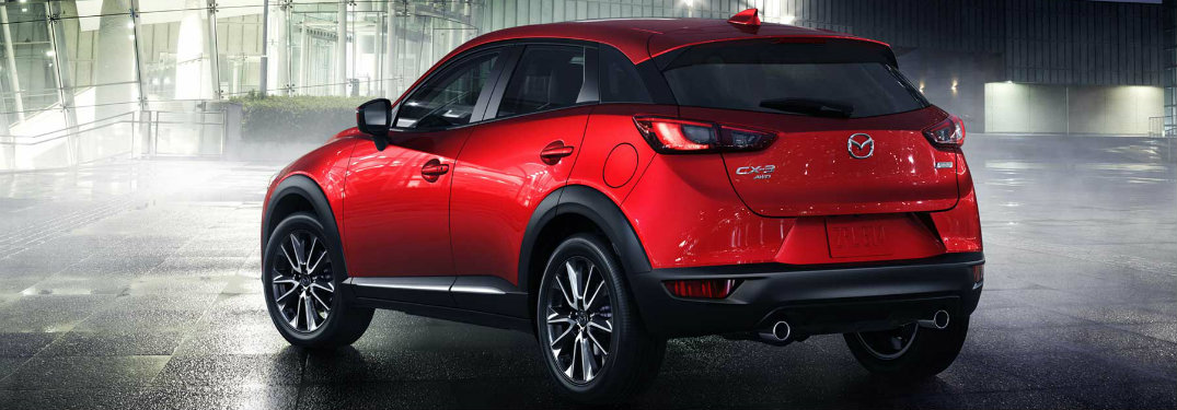 What colors does the 2017 Mazda CX-3 come in