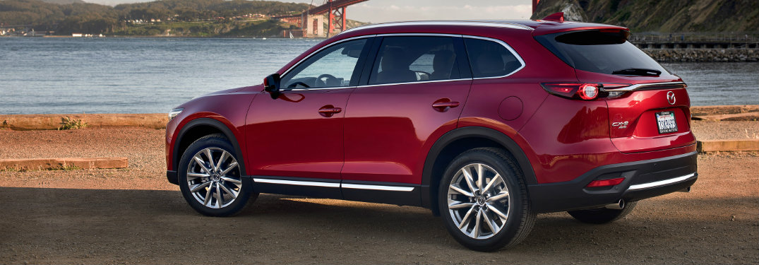 2017 Mazda CX-9 comfort and convenience features
