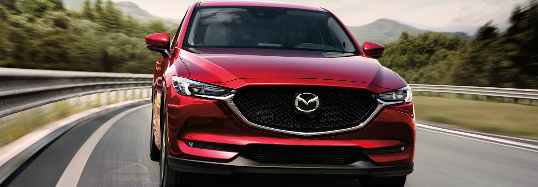 2017 Mazda CX-5 standard safety features