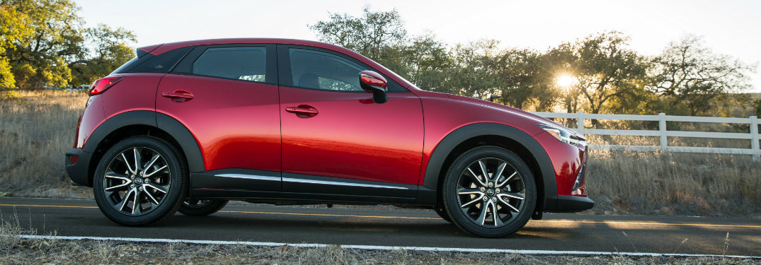 2017 Mazda CX-3 comes equipped with high-end technology features and options