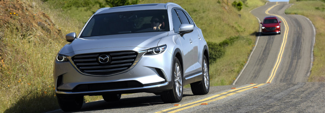 Biggest SUV in Mazda's lineup