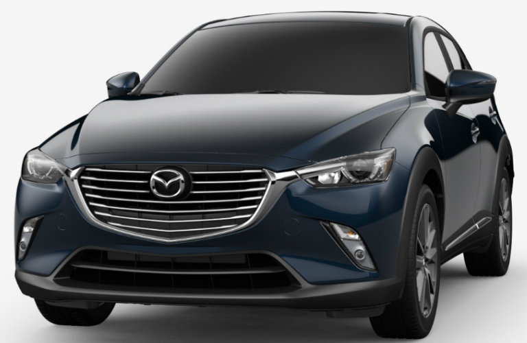 2018 Mazda CX-3 in Deep Crystal Blue Mica