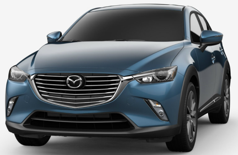 2018 Mazda CX-3 in Eternal Blue Mica