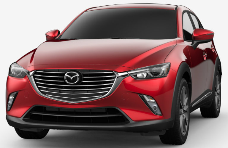 2018 Mazda CX-3 in Soul Red Metallic