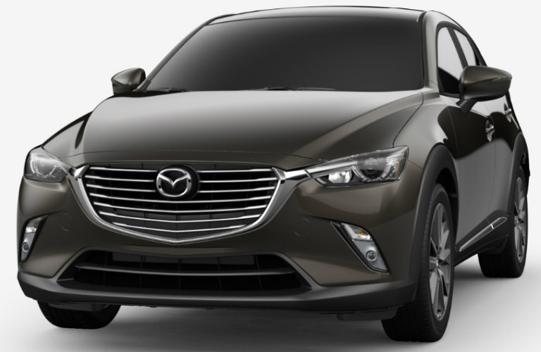 2018 Mazda CX-3 in Titanium Flash Mica