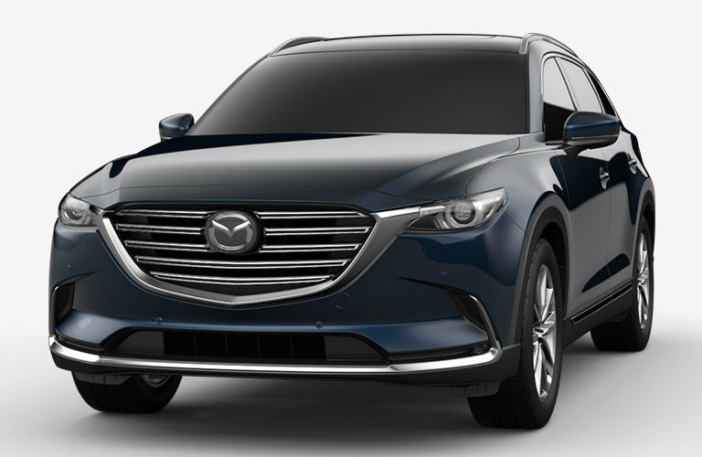 2018 Mazda CX-9 in Deep Crystal Blue Mica