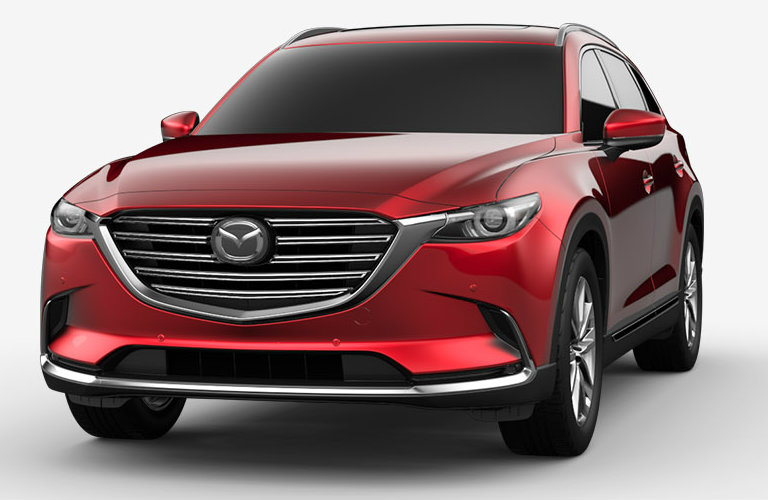 2018 Mazda CX-9 in Soul Red Crystal Metallic