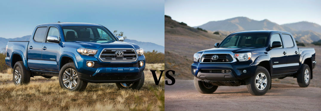 Differences Between The 2016 Toyota Tacoma And 2015 Toyota Tacoma
