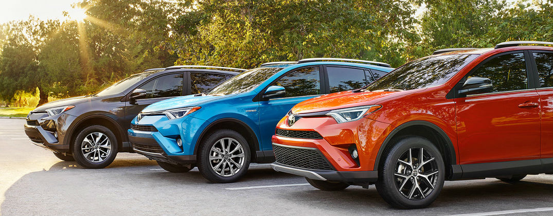 Toyota Rav Color Options