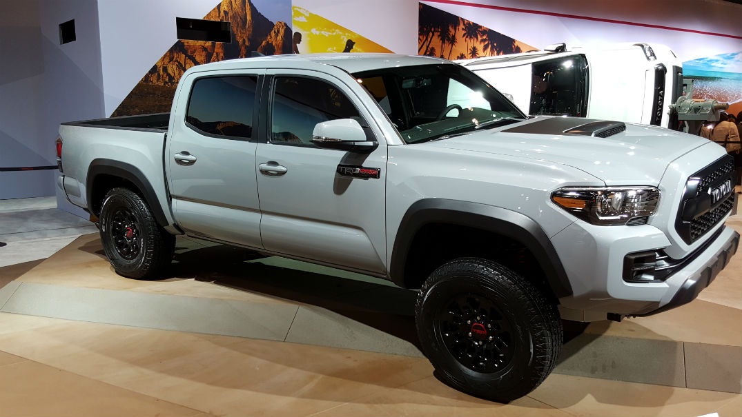 With 2017 Toyota Tacoma Trd Pro In Raleigh Nc At Fred