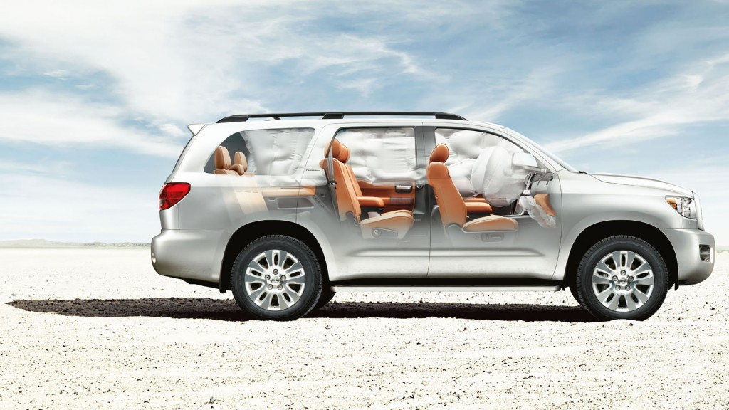 2015 Toyota Sequoia Safety Features
