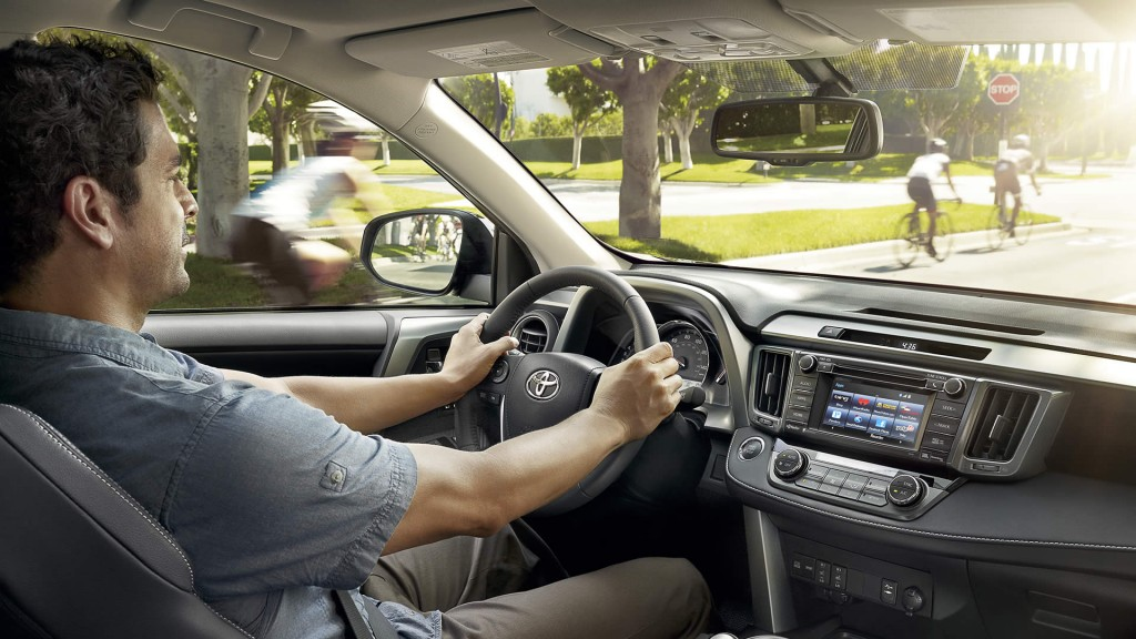 What is the engine immobilizer on the 2015 Toyota RAV4?